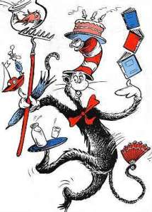 Juggling... (c) Dr Seuss